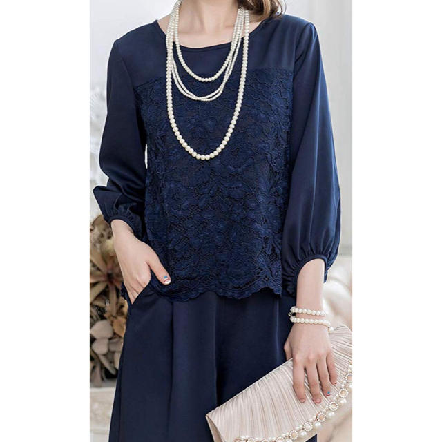 パンツドレス セットアップ レディース フォーマル レディースのフォーマル/ドレス(その他ドレス)の商品写真