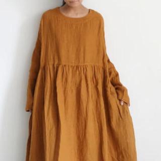 nest Robe - イチアンティークス ビエラワンピース(完売品)camel