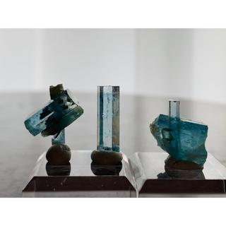 【鉱物標本】アクアマリン セット 原石 ベトナム産