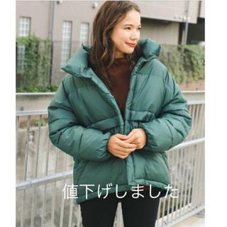 ニコアンド(niko and...)のniko and... AIRTHERMAL(エアサーマル)ビッグジャケット新品(ダウンジャケット)
