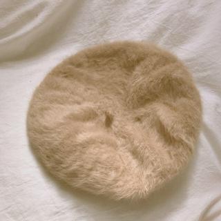 カスタネ(Kastane)のファーベレー帽(ハンチング/ベレー帽)