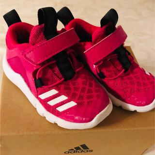 adidas - 美品 adidas アディダス スニーカー 12センチ ピンク 女の子