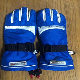 FILA - FILA スキー手袋 jr2  140 JM