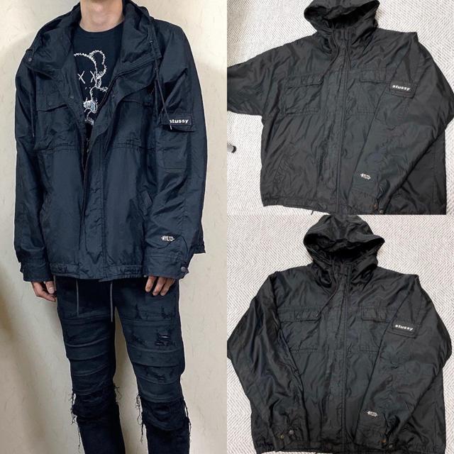 STUSSY(ステューシー)の90's stussy ステューシー ナイロンジャケット マウンテンパーカー メンズのジャケット/アウター(ナイロンジャケット)の商品写真