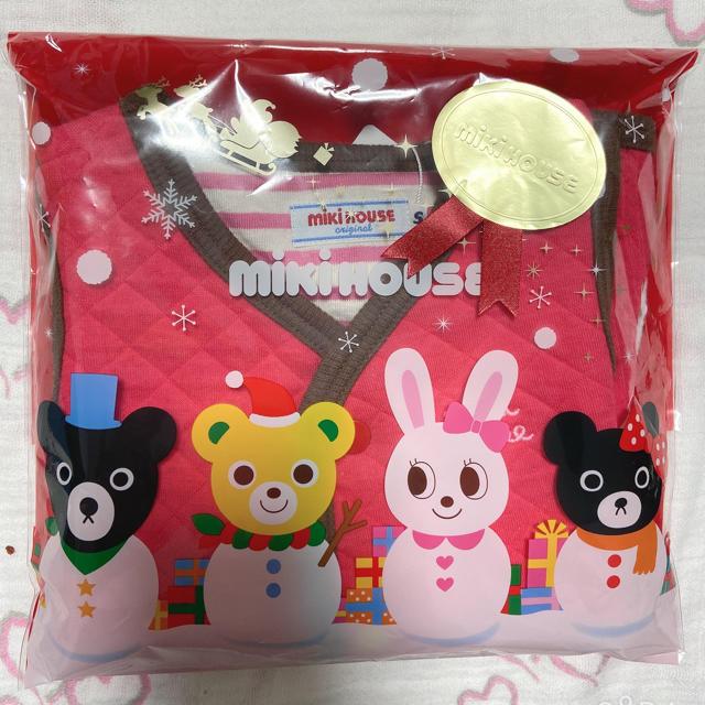 mikihouse(ミキハウス)のミキハウス ベスト キッズ/ベビー/マタニティのベビー服(~85cm)(ジャケット/コート)の商品写真