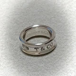 Tiffany & Co. - ティファニー 1837ロゴリング  6号