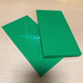 Lego - レゴブロック 板 グリーン 2ヶ