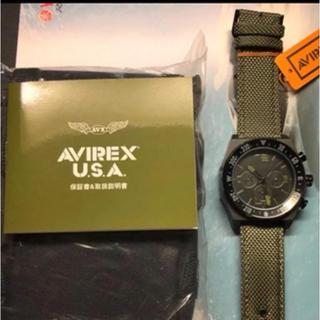 アヴィレックス(AVIREX)のAVIREX クロノグラフ クオーツ時計(腕時計(アナログ))