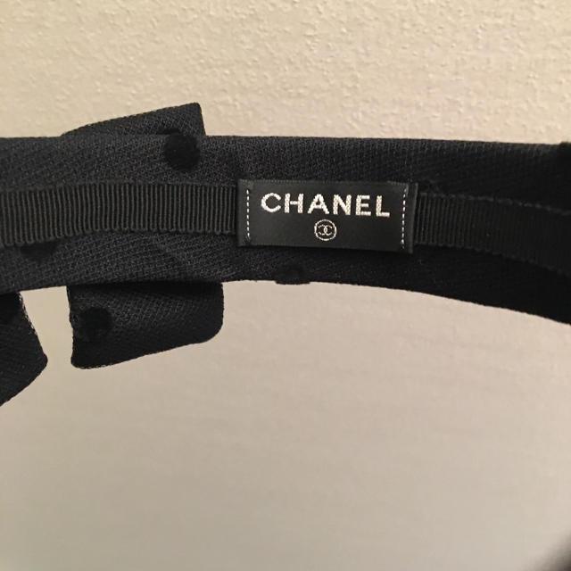 CHANEL(シャネル)の正規品 新品 CHANEL カチューシャ レディースのヘアアクセサリー(カチューシャ)の商品写真