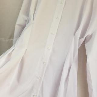 ステュディオス(STUDIOUS)のウエスト タック ブラウス white select(シャツ/ブラウス(長袖/七分))