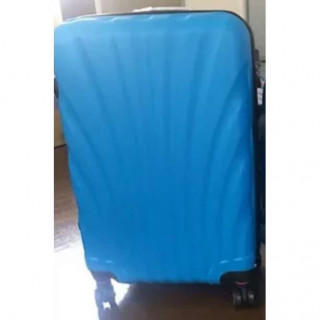 本日のみ スーツケース キャリーケース  Mサイズ ライトブルー(スーツケース/キャリーバッグ)