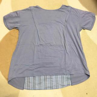 くすみパープルTシャツ(Tシャツ(半袖/袖なし))