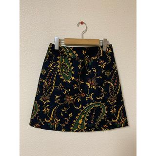 moussy - ペイズリー柄スカート moussy