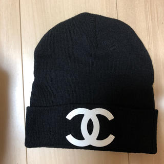 CHANEL - CHANELノベルティーニット帽子