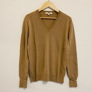 ユニクロ(UNIQLO)のユニクロ エクストラファインメリノVネックセーター(ニット/セーター)