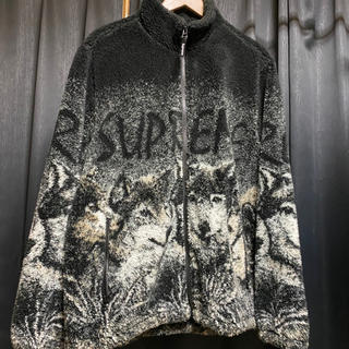 Supreme - 希少 XL Supreme Wolf Fleece Jacket