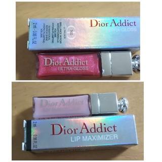Dior - 新品 ディオール アディクト マキシマイザー &ウルトラグロス 2本セット