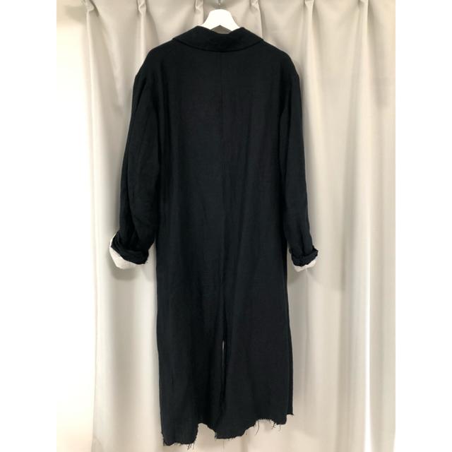 Paul Harnden(ポールハーデン)の『ELENA DAWSON リネンロングコート』 メンズのジャケット/アウター(ステンカラーコート)の商品写真