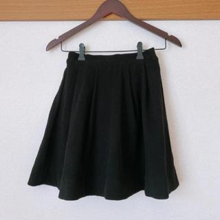 ティティアンドコー(titty&co)のtitty&co スカート ブラック(ひざ丈スカート)