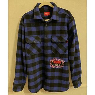 Supreme - Supreme 1-800 Buffalo Plaid Shirt