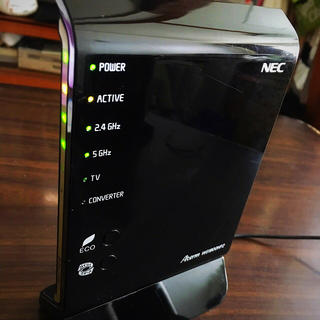 NEC - 送料無料 良品NEC 無線LANルーター Aterm