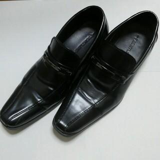 【お値下げ】25.5cm 黒ビジネスシューズ(ドレス/ビジネス)