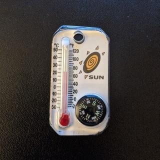 中古 SUN ミニ温度計 方位磁石
