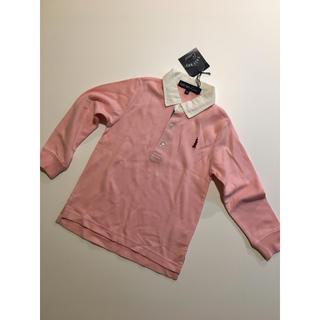イーストボーイ(EASTBOY)のイーストボーイ キッズ EASTBOY 100 ピンク カットソー 長袖 ラガー(Tシャツ/カットソー)