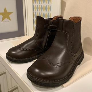 キャラメルベビー&チャイルド(Caramel baby&child )のEUREKA♡ サイドゴア ブーツ♡25 革靴(ブーツ)