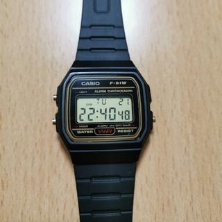 カシオ(CASIO)のチープカシオ CASIO F-91W(腕時計)