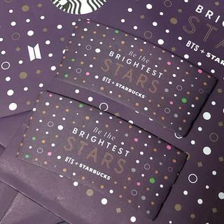 Starbucks Coffee - BTS+ STARBUCKS スリーブ2枚 即日発送可能