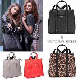 Victoria's Secret - 新品 ヴィクトリアシークレット リュック トートバッグ レオパード ブラック