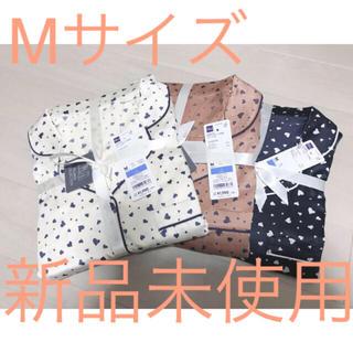 GU - ジーユー サテンパジャマ ハート Mサイズ  3個セット
