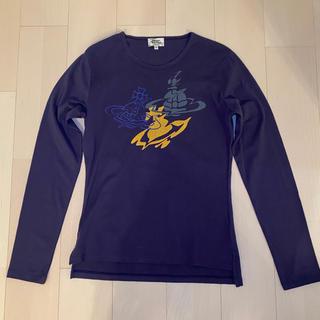 ヴィヴィアンウエストウッド(Vivienne Westwood)のViviennewestwood MAN オーブプリントカットソー(Tシャツ/カットソー(七分/長袖))