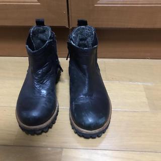 ザラ(ZARA)のZARAザラキッズブーツ革靴 ザラサイズ26(ブーツ)