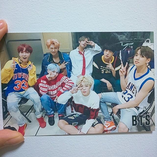 BTSポストカード エンタメ/ホビーの声優グッズ(写真/ポストカード)の商品写真