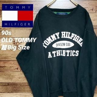 TOMMY HILFIGER - 《超ビッグサイズ》トミーヒルフィガー 90s オールドトミー スウェット