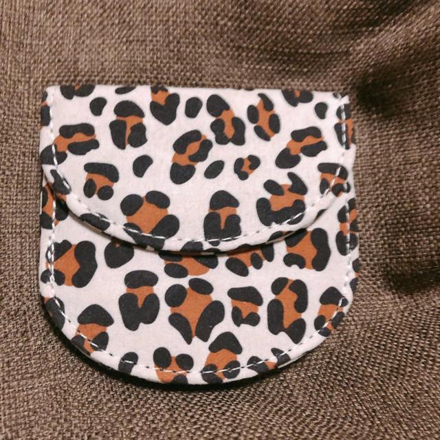 Lily Brown(リリーブラウン)の【トレンド】Lattice♡レオパード ラウンドミニ財布+.*三つ折り小銭入れ レディースのファッション小物(財布)の商品写真