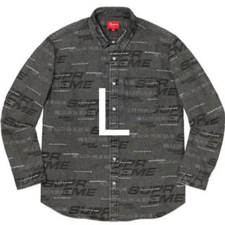 Supreme - Supreme Dimensions Logo Denim Shirt