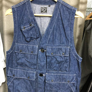 エンジニアードガーメンツ(Engineered Garments)のorslow ベスト(Gジャン/デニムジャケット)