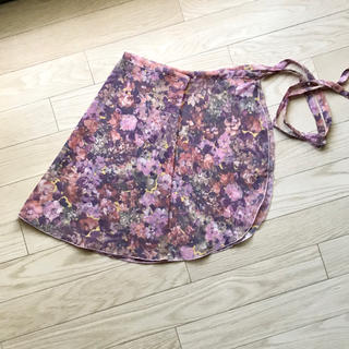 CHACOTT - シルビア新品バレエ 巻きスカート花柄チャコット