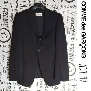 コムデギャルソン(COMME des GARCONS)の90's COMME des GARCONS メンズブラックテーラードジャケット(テーラードジャケット)