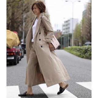 ★極美品★ 即完売 CINOH チノ 富岡佳子さん着用 マキシトレンチコート
