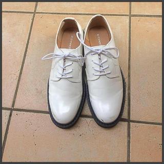ジーナシス(JEANASIS)のJEANASISレースアップシューズ 一度使用のみ(ローファー/革靴)
