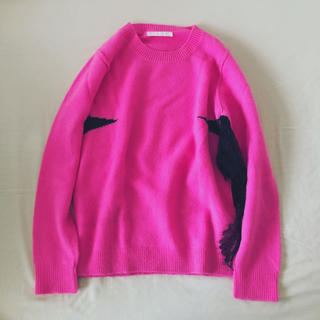 sacai - 美品 バーニーズニューヨーク購入 ジョアンナホーレース デザインニット ピンク