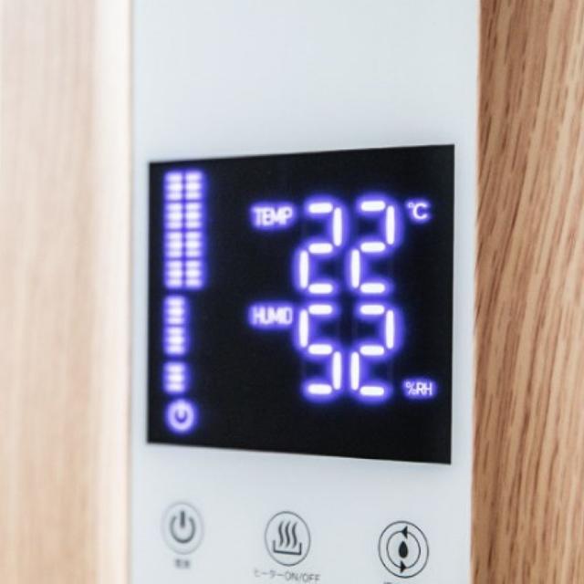 ★大人気★ 加湿器 4.4L リモコン付 加湿量6段階 ウッド 他カラー有 スマホ/家電/カメラの生活家電(加湿器/除湿機)の商品写真