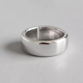 スターリングシルバー ラウンドオープンリング silver925(リング(指輪))