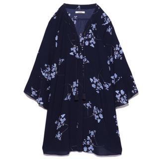 snidel - スナイデル 花柄ワンピース チュニック