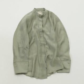 TODAYFUL - TODAYFUL  Standcollar Silkete Shirts