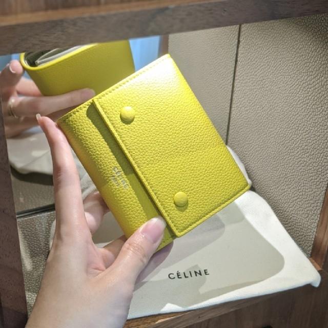 celine(セリーヌ)の旧ロゴ【新品・希少】CELINE Small Folded ミニ財布 フィービー レディースのファッション小物(財布)の商品写真